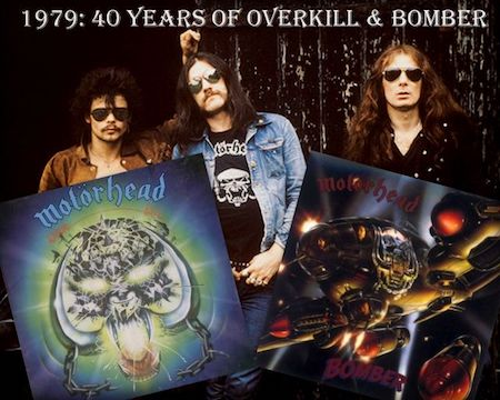 The Metal Crypt - 1979: 40 Years of Overkill & Bomber Interview